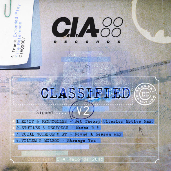 VA – Classified V2 EP [CIA Records]