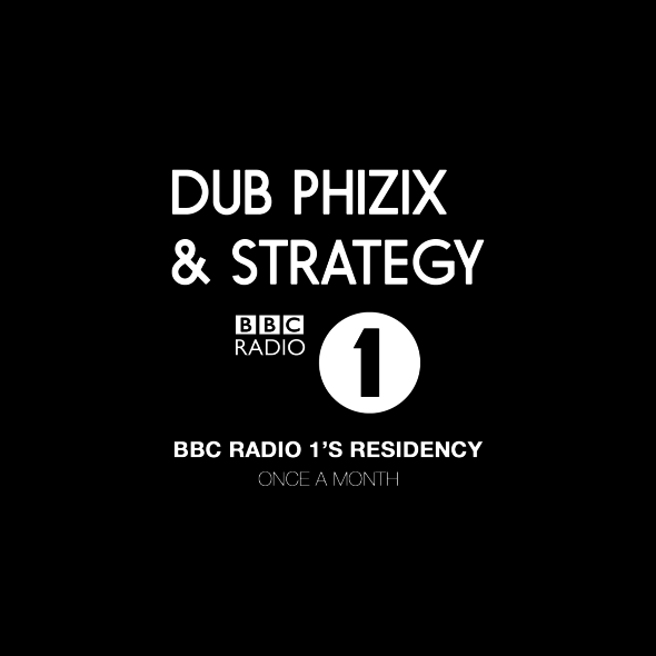 Dub Phizix & Strategy – BBC Radio 1 Residency / 08.01.2016