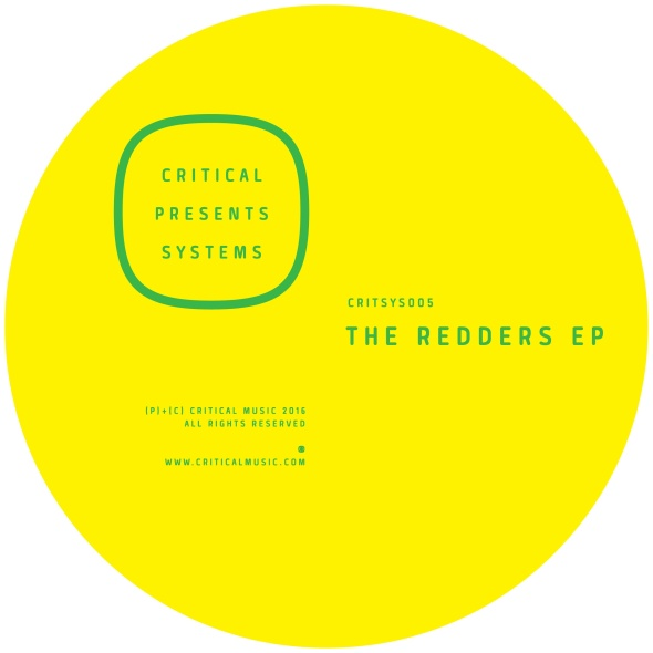Redders – The Redders EP [Critical Music]