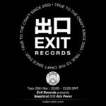 Exit Records presents Alix Perez b2b Skeptical on Radar Radio