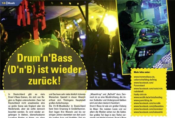 """Takt berichtet: """"Drum & Bass"""" ist wieder zurück!"""