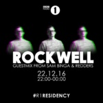 Sam Binga – Mix For Rockwells Residency December 2016