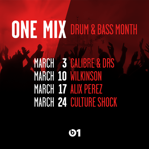 Beats 1 – One Mix Drum & Bass Month