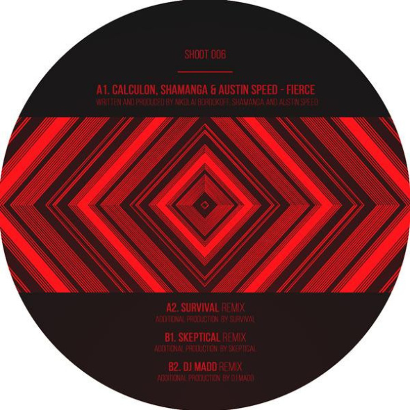 Calculon, Shamanga & Austin Speed – Fierce EP [Shoot Rec.]
