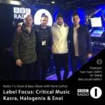 René LaVice Radio 1 Drum&Bass Show – Label Focus: Critical Music