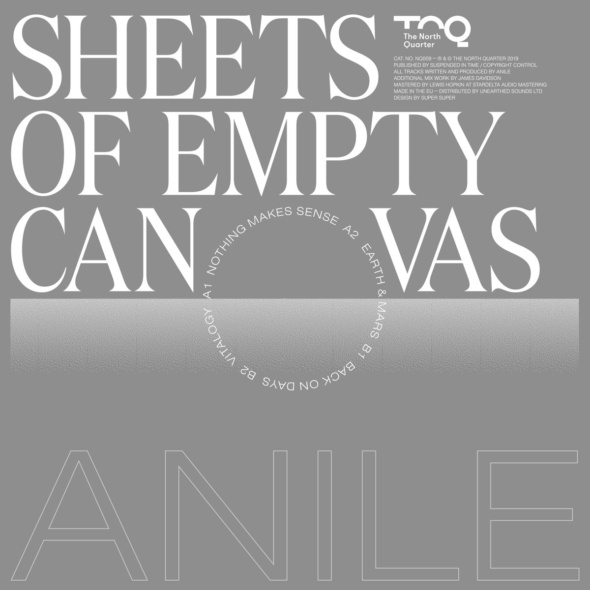 Anile – Sheets of Empty Canvas [The North Quarter]