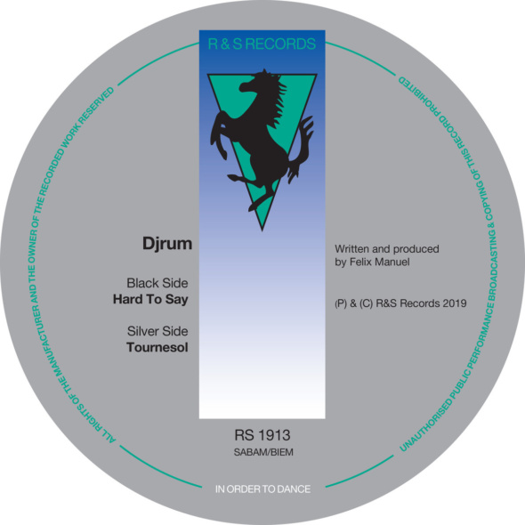 Djrum – Hard To Say / Tournesol [R & S Records]