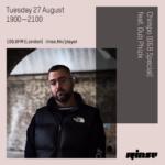 Chimpo ft. Dub Phizix – D&B Special on RinseFM / 27 August