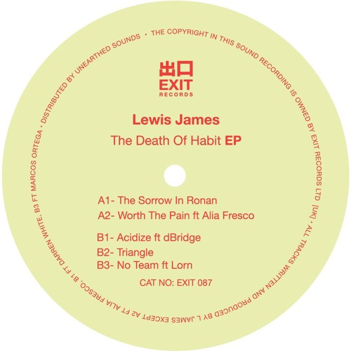 Lewis James – The Death Of Habit EP [Exit Records]